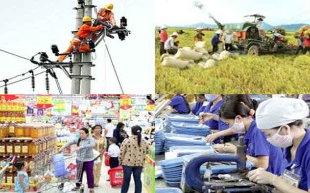 Thủ tướng giao chỉ tiêu tốc độ tăng tổng sản phẩm trong nước (GDP) năm 2016 khoảng 6,7%, tốc độ tăng chỉ số giá tiêu dùng (CPI) dưới 5%.