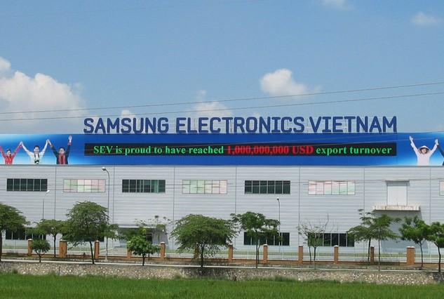 Dự án của Samsung tại Bắc Ninh cần đến 20.000 việc làm khi đi vào hoạt động. Ảnh: NC st