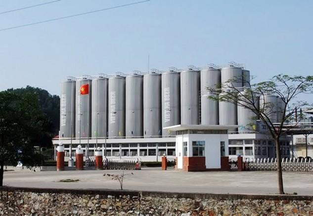 Nhà máy bia Việt Hà.