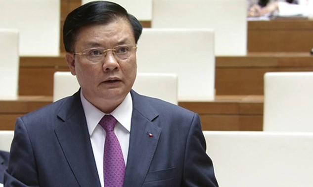 Bộ trưởng Tài chính Đinh Tiến Dũng