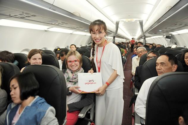 400.000 vé khuyến mại bay quốc tế cùng Vietjet