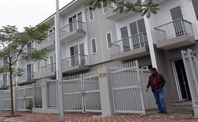 Số lượng sản phẩm đất nền, biệt thự Hà Nội mở bán trong năm 2015 gấp đôi so với năm 2014. Ảnh: Dũng Minh