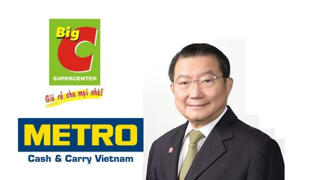 Tỷ phú Thái Lan vừa thâu tóm Metro muốn mua tiếp Big C Việt Nam