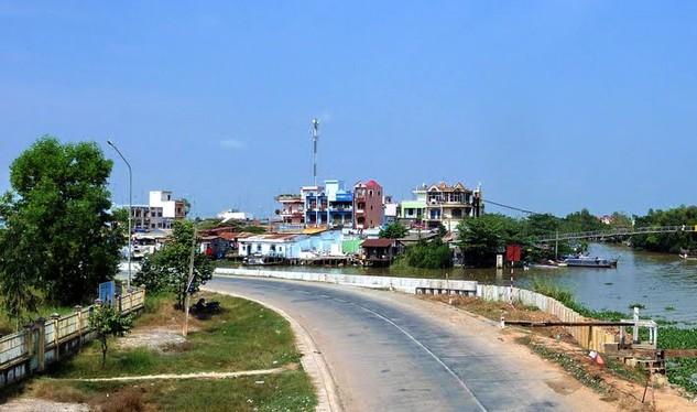 Tại huyện Tân Thạnh, Long An có 2 công trình thiếu minh bạch trong đấu thầu. Ảnh: Lê Tiên
