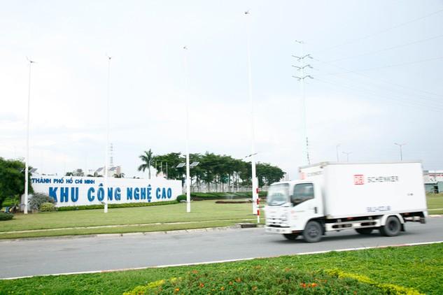 Vốn FDI đổ vào Việt Nam vẫn tiếp tục tập trung vào lĩnh vực sản xuất điện tử. Ảnh: Tiên Giang