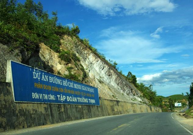 Các dự án mở rộng Quốc lộ 1 và Quốc lộ 14 vượt tiến độ từ 12 - 18 tháng. Ảnh: Lê Tiên