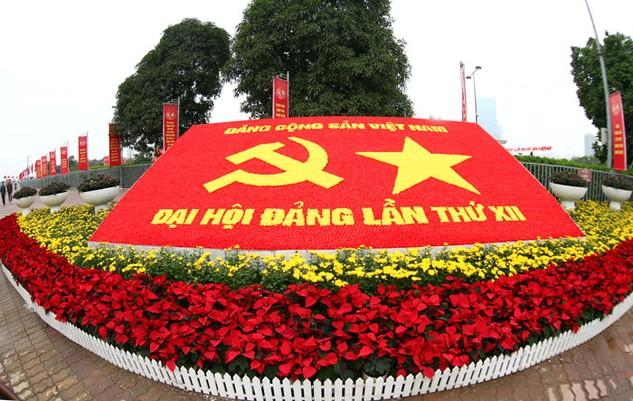 Đại hội XII của Đảng được kỳ vọng mở ra một kỷ nguyên mới cho đất nước. Ảnh: Lê Tiên