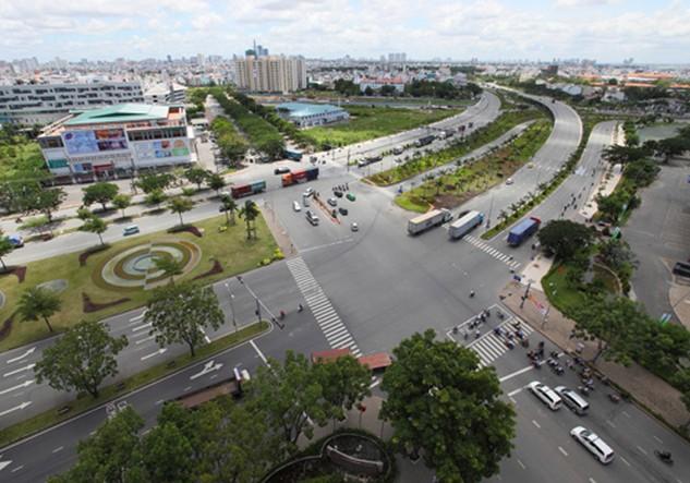Nhiều nhà phát triển dự án từng có mặt ở khu Đông TP HCM đã dịch chuyển nguồn cung về phía Nam thành phố. Ảnh: Q.H