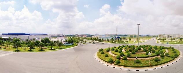 Khu công nghiệp VISP Bình Dương, điển hình thành công trong thu hút đầu tư nước ngoài. Ảnh: Văn Huyền