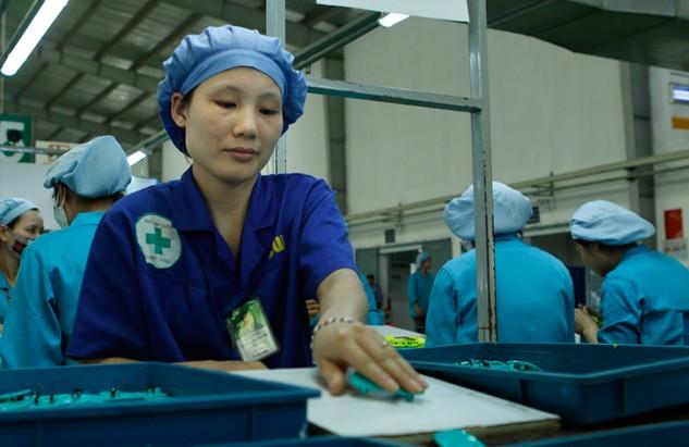 Tăng năng suất lao động là cách tạo động lực chính cho tăng trưởng kinh tế trong thời gian tới. Ảnh: Lê Tiên