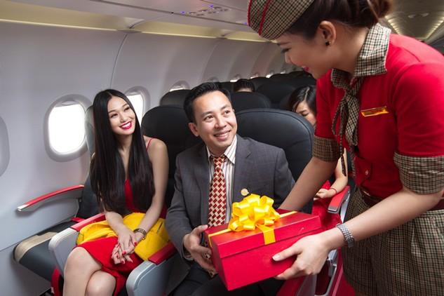 Tận hưởng dịch vụ SkyBoss nhanh hơn và tiện ích hơn cùng Vietjet