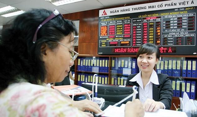 VietA Bank đang áp dụng lãi suất tiết kiệm cao nhất là 7,6%/năm cho kỳ hạn 15 tháng