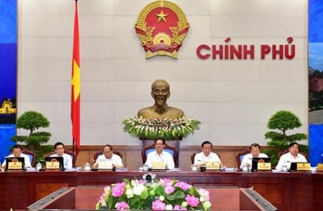 Một phiên họp thường kỳ của Chính phủ