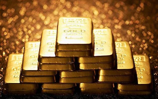Giá vàng lên mức cao nhất 3 tháng. Ảnh: Telegraph.