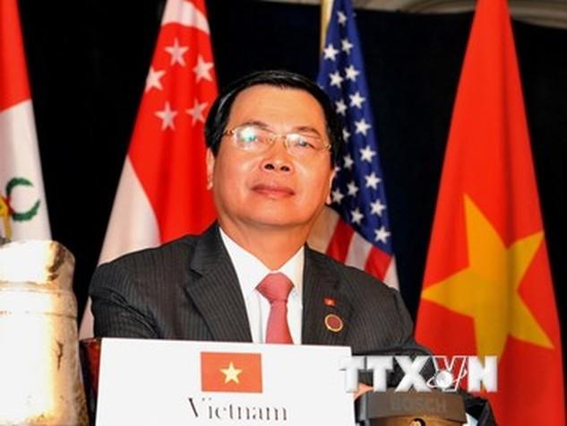 Bộ trưởng Bộ Công thương Vũ Huy Hoàng. (Ảnh: Thanh Tuấn/TTXVN)