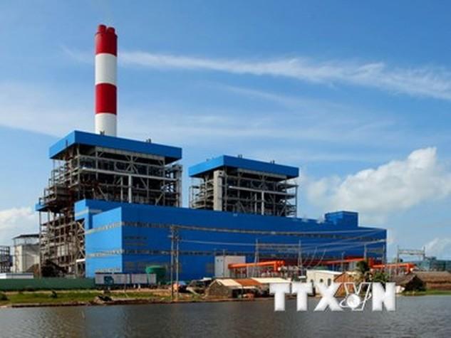 Nhà máy Nhiệt điện Duyên Hải 1. (Ảnh: Ngọc Hà/TTXVN)