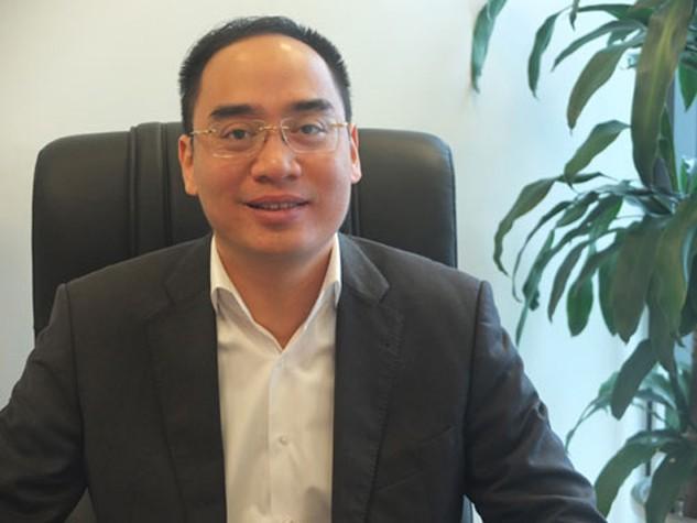 Vụ trưởng Vụ Chính sách tiền tệ Ngân hàng Nhà nước Bùi Quốc Dũng. Ảnh:Thanh Lan.