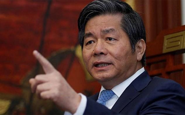 Ông Bùi Quang Vinh, Bộ trưởng Bộ Kế hoạch và Đầu tư.