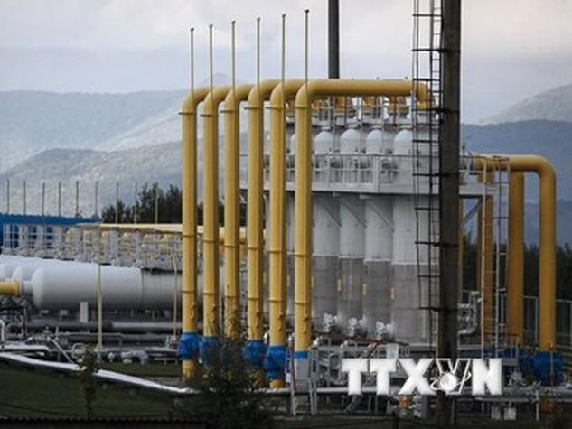 Quang cảnh một nhà máy lọc dầu. (Nguồn: TASS/TTXVN)
