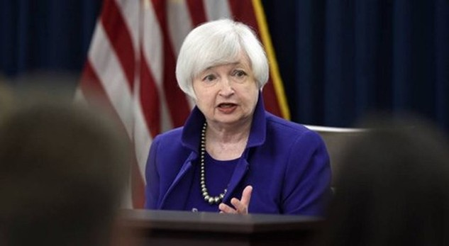 Chủ tịch Cục dự trữ liên bang (Fed) Janet Yellen để ngỏ khả năng nâng lãi suất trong phiên họp chính sách vào tháng Ba