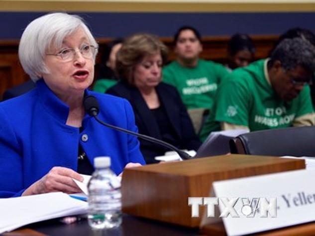 Chủ tịch Ngân hàng Dự trữ Liên bang Mỹ (Fed) Janet Yellen. (Ảnh: THX/TTXVN)