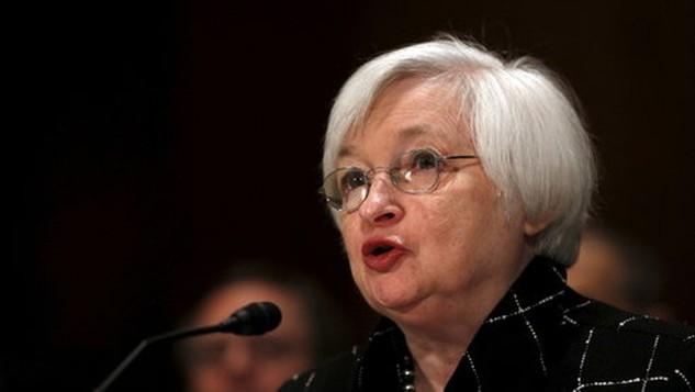 Cảnh báo của Chủ tịch FED Janet Yellen khiến giới đầu tư hoang mang - Ảnh: Reuters