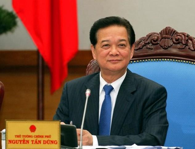 Thủ tướng Chính phủ Nguyễn Tấn Dũng. Ảnh: VGP/Nhật Bắc