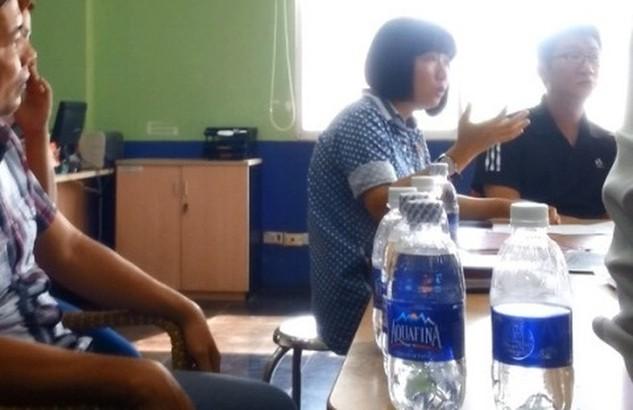 Ông giám đốc Phe Chai Yuan tại buổi làm việc với cơ quan chức năng quận 7 và Hepza