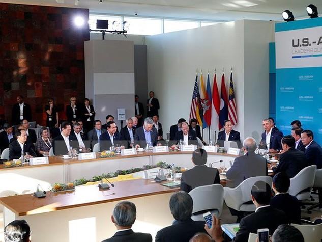 Hội nghị Cấp cao đặc biệt ASEAN-Hoa Kỳ. (Ảnh: Đức Tám/TTXVN)