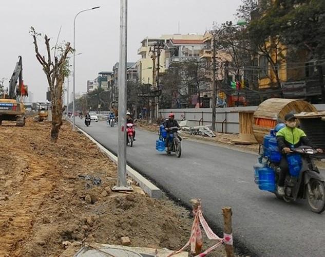 Đường Lê Trọng Tấn mở rộng sẽ thông xe trước 30-4