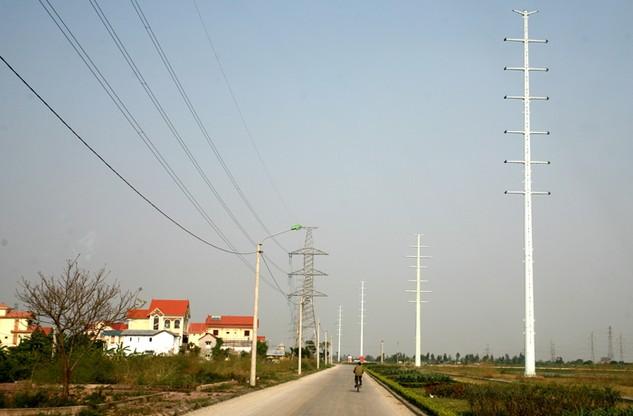 Một gói thầu thuộc Dự án Nâng cao năng lực truyền tải ĐZ 110 kV Bắc Ninh - Đông Anh và nhánh rẽ Tiên Sơn có tỷ lệ tiết kiệm 34%. Ảnh: Lê Tiên