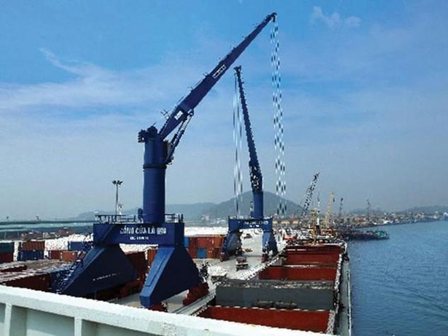 Cảng Nghệ Tĩnh là cụm cảng tổng hợp quốc gia đầu mối chính tại khu vực Trung Bộ. Ảnh: T.L