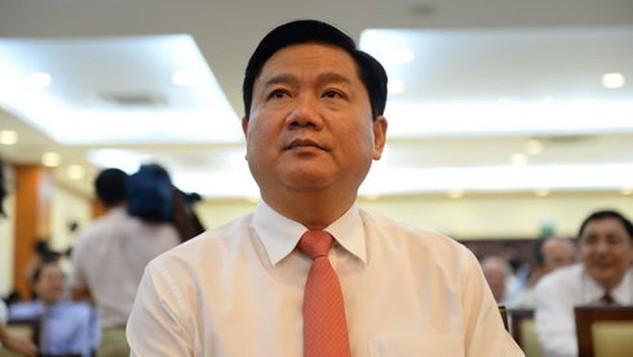 Tân Bí thư Thành ủy TP.HCM Đinh La Thăng - Ảnh: Thuận Thắng
