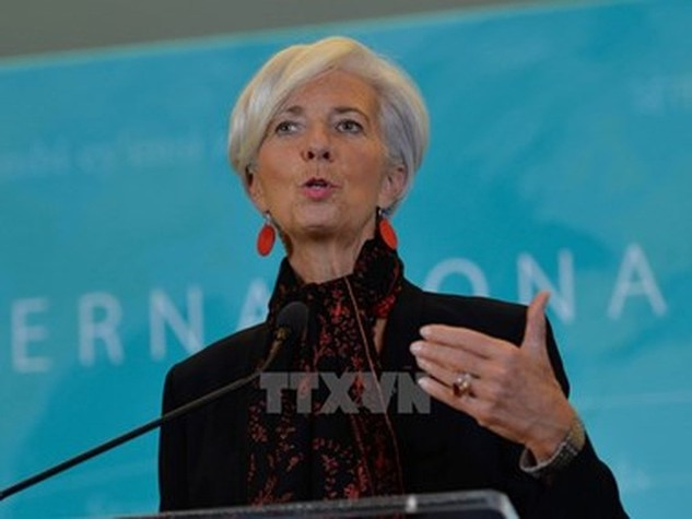 Tổng Giám đốc IMF Christine Lagarde. (Nguồn: THX/TTXVN)