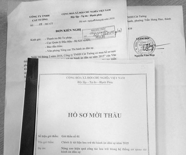 Bên mời thầu - Văn phòng Tổng cục Thi hành án dân sự khẳng định sẽ rà soát và phản hồi các kiến nghị mà nhà thầu đã phản ánh