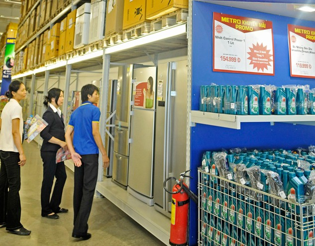 Chuỗi siêu thị Metro Cash & Carry Việt Nam đã về tay Tập đoàn TCC (Thái Lan). Ảnh: LTT