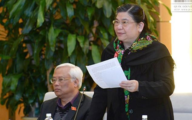Phó Chủ tịch Quốc hội Tòng Thị Phóng kết luận tiếp tục chuẩn bị để trình dự án Luật Biểu tình ra Quốc hội tại kỳ họp XI