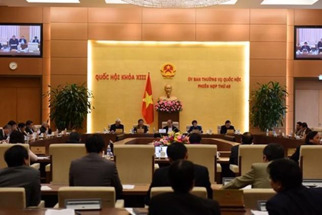 Một phiên họp của Ủy ban Thường vụ Quốc hội: Ảnh Internet