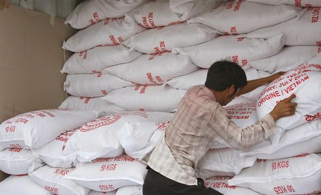 Gạo Việt Nam xuất khẩu có chất lượng cao chiếm tỷ trọng thấp. Ảnh: Huyền Trang