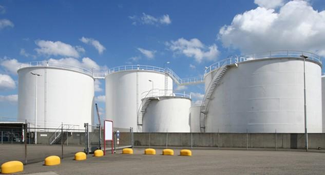 Kho xăng của Công ty Dương Đông Hòa Phú. Nguồn: Internet