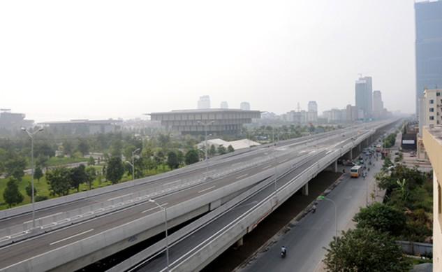 Đường vành đai 3 Thành phố Hà Nội có tổng chiều dài khoảng 8.912m, bao gồm 385m đường dẫn và 8.527m cầu cạn đã được đưa vào sử dụng