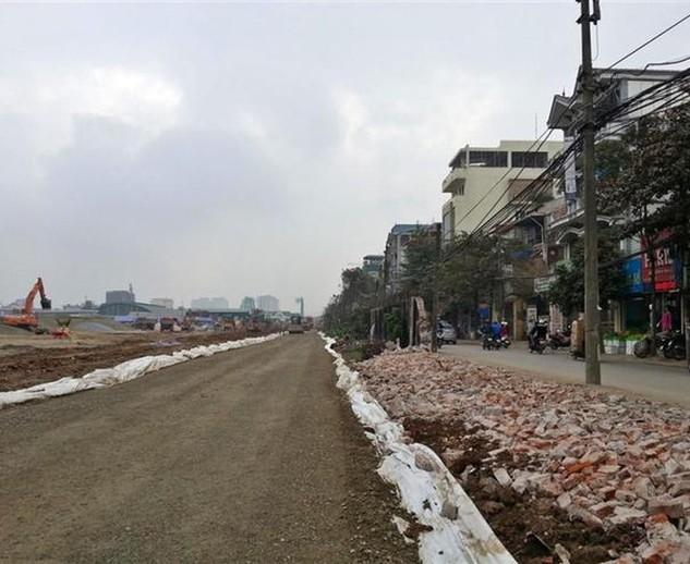 Hà Nội: Đường Lê Trọng Tấn mở rộng sẽ hoàn thành sau 2 tháng nữa