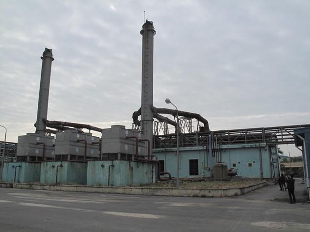 Nhà máy điện Cái Lân hoang tàn - Ảnh: Ngân Hiếu