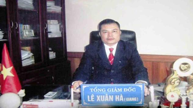 Siêu lừa Lê Xuân Giang (còn gọi là Lê Xuân Hà) luôn xuất hiện trong các sự kiện của Liên Kết Việt để lừa các nhà phân phối - Ảnh: CQĐT cung cấp