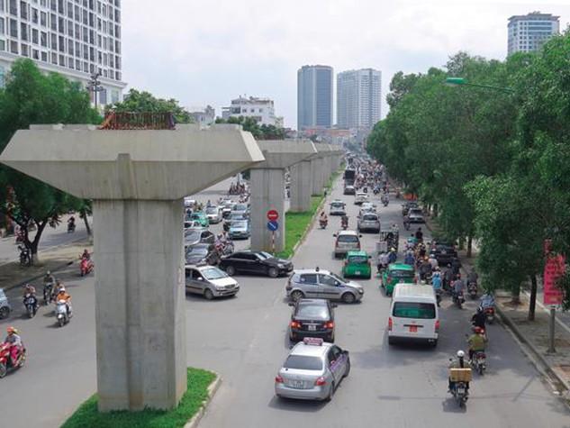 Đường sắt đô thị Cát Linh - Hà Đông chậm tiến độ do tổng thầu nợ nhà thầu phụ 400 tỷ đồng