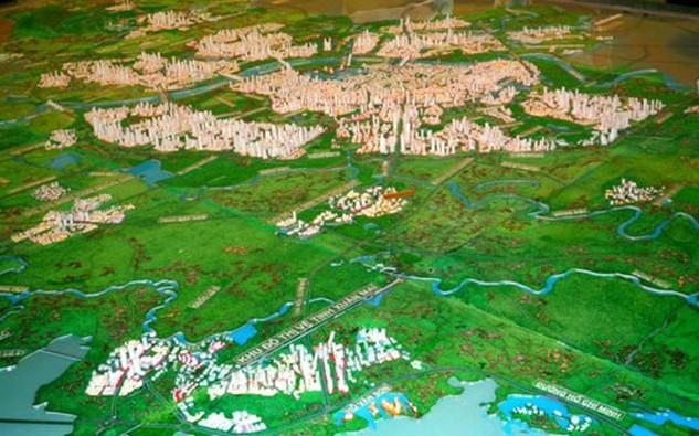 Vùng Thủ đô được xác định với địa giới mới gồm Hà Nội và 9 tỉnh là Vĩnh Phúc, Bắc Ninh, Hải Dương, Hưng Yên, Hà Nam, Hòa Bình, Phú Thọ, Thái Nguyên và Bắc Giang.