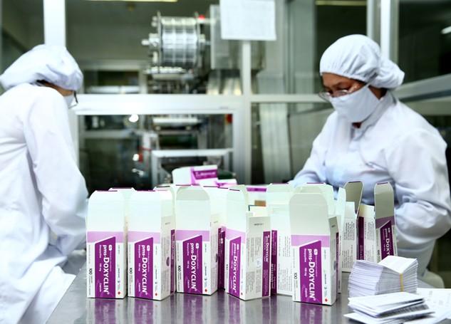 Giá trị của thuốc nội trúng thầu chiếm tỷ lệ thấp trong tổng giá trị các  gói thầu mua thuốc. Ảnh: Lê Tiên