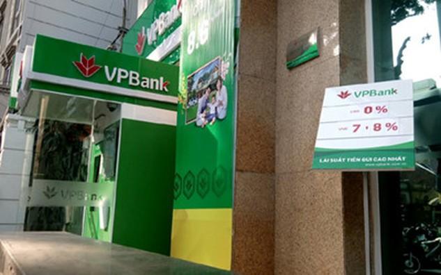 """VPBank niêm yết lãi suất huy động cao nhất 7,6%/năm nhưng vẫn """"thưởng"""" thêm 0,2%/năm cho khách hàng"""