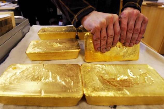 Giá vàng và các kim loại quý hôm qua đều tăng mạnh. Ảnh: The Star.