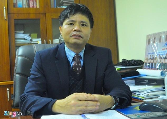 Vụ trưởng Vụ An toàn giao thông. Ảnh: Hoàn Nguyễn.